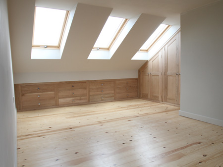 Furniture For Lofts karl hutton bespoke joinery ltd: loft conversions